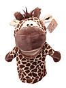 Stuffed Toys Fantoche de Dedo Brinquedos Cavalo Cow Hipopotamo Veado Animais Crianca Adulto Pecas