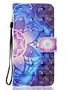 Capinha Para Samsung Galaxy A5(2017) A3(2017) Carteira Porta-Cartao Com Suporte Flip Estampada Magnetica Corpo Inteiro Mandala Rigida