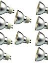 10 шт. 3W 280lm Точечное LED освещение 30 Светодиодные бусины SMD 5050 Декоративная Тёплый белый Холодный белый 12V