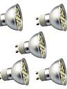5 шт. 3W 350lm Точечное LED освещение 29 Светодиодные бусины SMD 5050 Декоративная Тёплый белый Холодный белый 220V