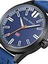 남성용 스포츠 시계 밀리터리 시계 패션 시계 독특한 창조적 인 시계 캐쥬얼 시계 손목 시계 석영 실리콘 밴드 참 럭셔리 우아한 멋진 캐쥬얼 창의적 블랙 블루