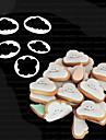 1pc Inovador Uso Diario Plasticos Alta qualidade Moldes de bolos