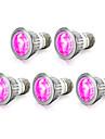 E14 GU10 E27 LED Grow Lights 10 SMD 5730 165-190 lm Red Blue K AC85-265 V