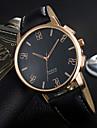 YAZOLE 남성용 패션 시계 손목 시계 독특한 창조적 인 시계 석영 PU 밴드 멋진 캐쥬얼 럭셔리 우아한 블랙 브라운