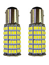 2pcs 1157 Automatique Ampoules electriques 4W W SMD 3528 385lm lm Clignotants