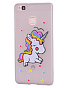 Case for Huawei P10 Lite P10 Case Cover Pattern Back Cover Case Unicorn Soft Silicone for Huawei P9 Lite P8 Lite