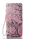 Capinha Para Samsung Galaxy NNote 8 Carteira Porta-Cartao Com Suporte Flip Estampada Corpo Inteiro Arvore Rigida Couro Ecologico para