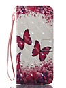 Case For Samsung Galaxy S8 Plus S8 Wallet Card Holder with Stand Flip Pattern Magnetic Full Body Butterfly Hard TPU for S8 S8 Plus S7