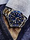 Men\'s Women\'s Bracelet Watch Sport Watch Dress Watch Wrist watch Chinese Quartz Calendar / date / day Punk Stainless Steel Band Charm