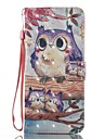 Case For Samsung Galaxy S8 Plus S8 Case Cover Card Holder Wallet with Stand Flip Pattern Full Body Case Owl Hard PU Leather for S7 edge S7 S6