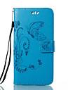 Coque Pour Huawei Honor 4X / Huawei P9 / Huawei P9 Lite P10 / P9 Portefeuille / Porte Carte / Avec Support Coque Integrale Papillon / Fleur Dur faux cuir pour P10 Plus / P10 Lite / P10