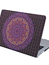 MacBook Case for MacBook Air 13-inch Macbook Air 11-inch MacBook Pro 13-inch with Retina display Mandala TPU Material