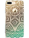 Para iPhone X iPhone 8 Case Tampa Estampada Capa Traseira Capinha Lace Impressao Macia PUT para Apple iPhone X iPhone 8 Plus iPhone 8