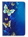 Capinha Para Samsung Galaxy A Tab 8.0 Capa Protecao Completa Tablet Cases Borboleta Rigida PU Leather para
