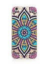 Case For Apple iPhone X iPhone 8 iPhone 8 Plus Transparent Pattern Back Cover Mandala Soft TPU for iPhone X iPhone 8 Plus iPhone 8 iPhone