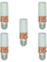 5 шт. 16W E27 LED лампы типа Корн T 84 светодиоды SMD 2835 Тёплый белый Белый Двойной цвет источника света 1300lm 3000-3500 6000-6500