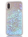 Case For Apple iPhone X iPhone 8 iPhone 8 Plus iPhone 5 Case Flowing Liquid Transparent Back Cover Glitter Shine Hard PC for iPhone X