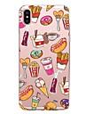 케이스 제품 Apple iPhone X iPhone 8 iPhone 8 Plus 투명 패턴 뒷면 커버 음식 소프트 TPU 용 iPhone X iPhone 8 Plus iPhone 8 아이폰 7 플러스 아이폰 (7) iPhone 6s Plus