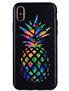 Para iPhone X iPhone 8 Case Tampa Estampada Capa Traseira Capinha Fruta Macia Silicone para Apple iPhone X iPhone 8 Plus iPhone 8 iPhone