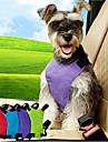 Кошка Собака Собачья упряжка для использования в авто/Собачья упряжка для безопасности Регулируется Однотонный Нейлон Черный Лиловый Синий