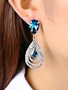 Women\'s Stud Earrings Drop Earrings Crystal Rhinestone Classic Fashion Crystal Alloy Drop Jewelry For Party Gift