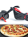 Motosiklet pizza kesici paslanmaz çelik tekerlek bıçak bisiklet bisiklet rulo pizza doğrama dilimleyici soyma bıçakları