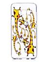 Кейс для Назначение SSamsung Galaxy S8 Plus S8 Прозрачный С узором Кейс на заднюю панель Мультипликация Мягкий ТПУ для S8 Plus S8 S7 edge