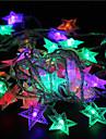 10m 60led rgb lights star lights feriado banquete de casamento decoracoes cortina luzes luzes de corda 220v