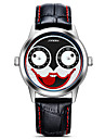 Men\'s Sport Watch Fashion Watch Wrist watch Japanese Quartz Shock Resistant Large Dial Leather Band Casual Cartoon Cool Black