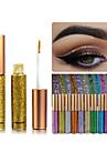 1шт радуга цвета eyeshadow блеск длительный водонепроницаемый eyeshadow подводка для глаз