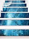 Landscape Romance Botanical Wall Stickers Housing Plane Wall Stickers 3D Wall Stickers Decorative Wall Stickers Wedding Stickers, Paper