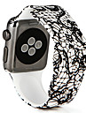 Bracelet de Montre  pour Apple Watch Series 3 / 2 / 1 Apple Bracelet Sport Silikon Sangle de Poignet