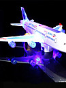 LED Lighting Model Building Kits Toys Airplane Holiday Birthday Music Noctilucent With Switch Electric Classic Kids Pieces
