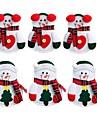 decoracoes do feriado decoracoes de natal decoracoes de natal enfeites de natal desenhos animados halloween festa de natal novidade 6-pack