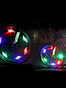 Safety Lights LED LED Cycling Glow CR2032 200 Lumens CR2032 Battery Multi Color Green Blue Red Cycling/Bike