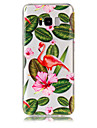 Huelle Fuer Samsung Galaxy S8 Plus S8 Transparent Muster Rueckseite Flamingo Weich TPU fuer S8 Plus S8 S7 edge S7 S6 edge S6