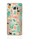 Case For Samsung Galaxy S8 Plus S8 Pattern Back Cover Flamingo Soft TPU for S8 Plus S8 S7 edge S7 S6 edge plus S6 edge S6
