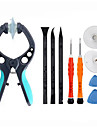 Cell Phone Repair Tools Kit Screwdriver Suction Cup Plastic/Stianless Steel Pry Replacement Tools
