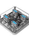 ORICO 4 USB-Hub Micro USB Typ A USB 3.0 High-Speed Daten-Hub