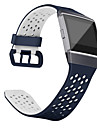 Watch Band for Fitbit ionic Fitbit Sport Band Classic Buckle Silicone Wrist Strap