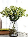 Artificial Flowers 1 Branch Simple Style Plants Tabletop Flower
