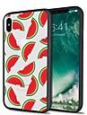 Pouzdro Uyumluluk Apple iPhone X / iPhone 8 Plus Temalı Arka Kapak Kuyruk / Meyve Yumuşak TPU için iPhone X / iPhone 8 Plus / iPhone 8