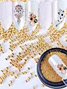 Purpurina Joias de unha Metalico Acessorios Glamorouso Fashion Alta qualidade Diario Nail Art Design