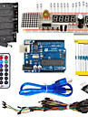 KT003 UNO Starter Kit with Bread Plate / Sensor / LED Light for Arduino DIY Parts