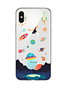 Coque Pour Apple iPhone X iPhone 8 Plus Coque iPhone 5 iPhone 6 iPhone 7 Translucide Motif Coque Bande dessinee Flexible TPU pour iPhone