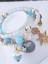 Women\'s Charm Bracelet Strand Bracelet Fashion Sweet European Resin Alloy Owl Jewelry Party Costume Jewelry