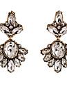 Women\'s 2pcs Drop Earrings Crystal Rhinestone Vintage Bohemian Elegant Alloy Drop Flower Jewelry Daily Evening Party Costume Jewelry