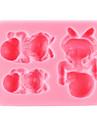 Bakeware araçları Silikon Çevre-dostu / Şükran Günü / Kendin-Yap Kek / Kurabiye / Çikolota Bebek uyku Pişirme Kalıp 1pc