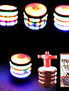 LED Lighting Toys Cylindrical Classic Theme Glow Lighting Talking Soft Plastic Children\'s Pieces