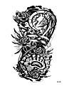 1 pcs Tetovací nálepky dočasné tetování Květinová řada Tělesné Arts paže / rameno